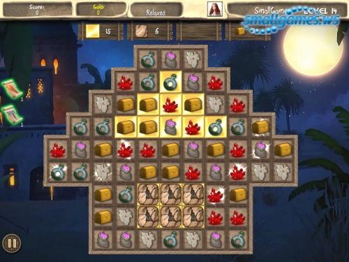 Arabian Treasures: Midnight Match