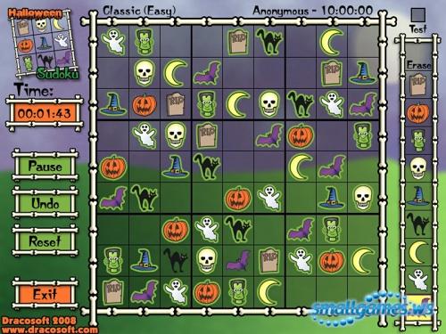 Halloween Sudoku