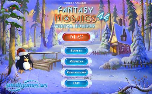 Fantasy Mosaics 44: Winter Holiday