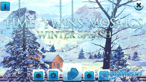 Time Twins Mosaics 4: Winter Splash