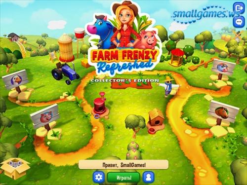 Farm Frenzy: Refreshed Collector's Edition (русская версия)