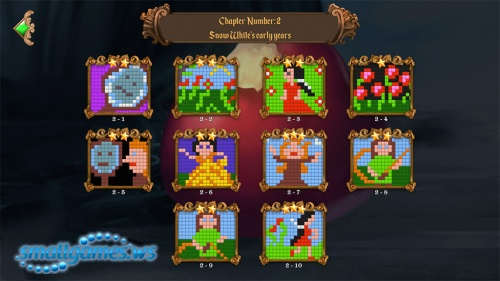 Fables Mosaic 4: Snow White and the Seven Dwarfs
