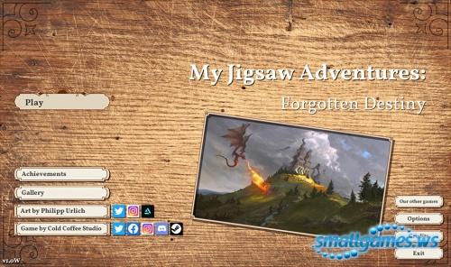 My Jigsaw Adventures 4: Forgotten Destiny