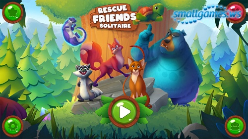Rescue Friends: Solitaire (русская версия)