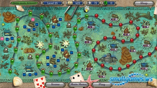 Jewel Match: Atlantis Solitaire 2 Collector's Edition