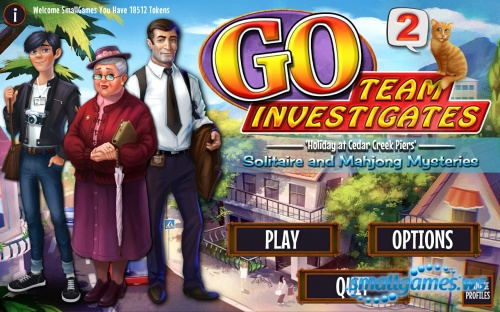 GO Team Investigates 2: Solitaire and Mahjong Mysteries