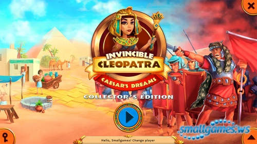 Invincible Cleopatra: Caesar's Dreams Collector's Edition