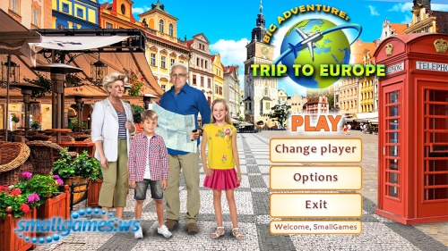 Big Adventure: Trip to Europe (eng, рус)