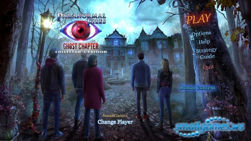 Paranormal Files 7: Ghost Chapter Collector's Edition