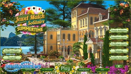 Jewel Match: Solitaire Summertime