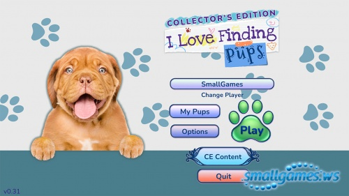 I Love Finding Pups! Collector's Edition