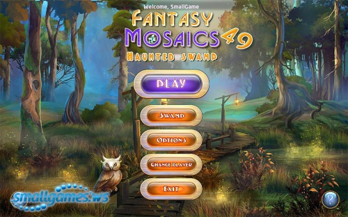 Fantasy Mosaics 49: Haunted Swamp