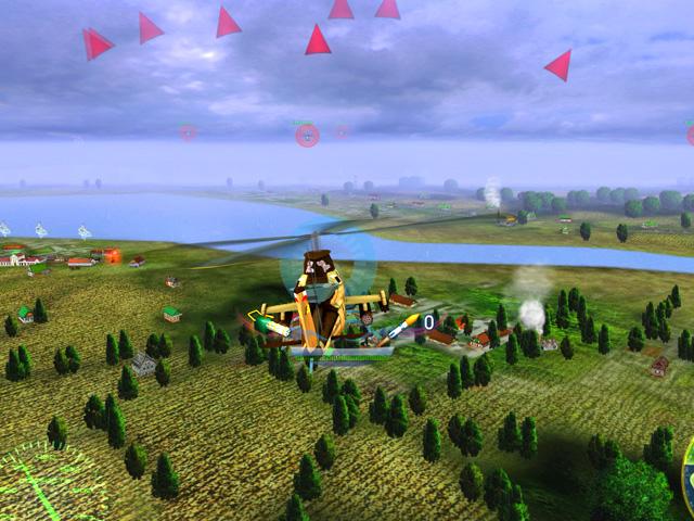 Игра Военный вертолет - играть бесплатно - Флеш игры