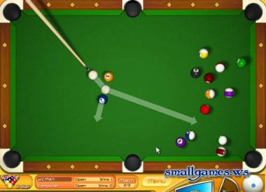 Backspin Billiards Deluxe