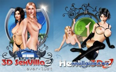 3D SexVilla 2 - Everlust (2008/ENG) + Hentai 3D 2 - Cry of Pleasure (2008/ENG)