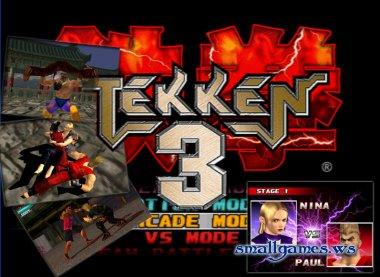 Tekken 3 и эмулятор Sony playstation