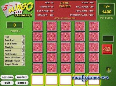 5 Card Slingo 1.0.9