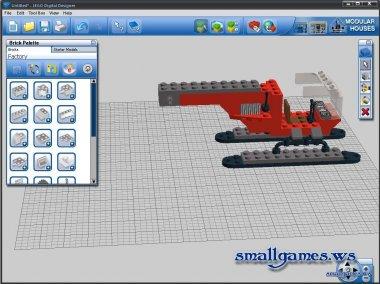 LEGO Digital Designer v4.3.8