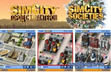 Sim City Societies - Город с характером (Java)