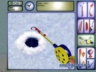 Интересный симулятор зимней рыбалки ProPilkki2