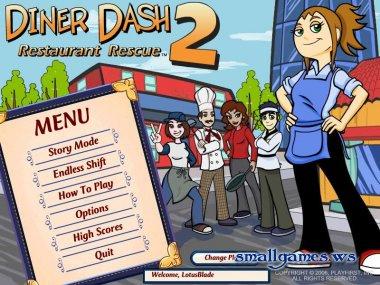 Diner dash 2 in 1