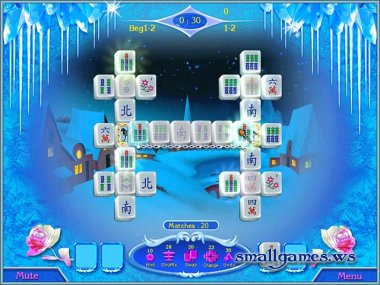 Snow Queen Mahjong