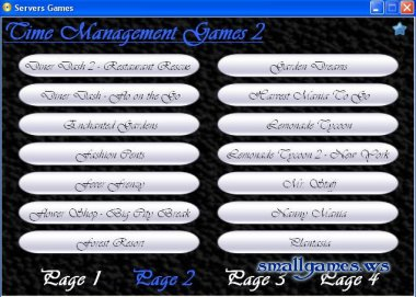 Time manager game