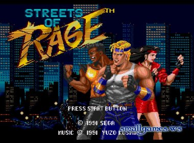 �������� Streets of Rage