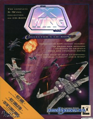 Star Wars: X-Wing Collector's CDROM, Simulator (Space) / 3D / RETRO