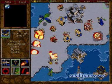 Warcraft II: Tide of Darkness (eng, рус)