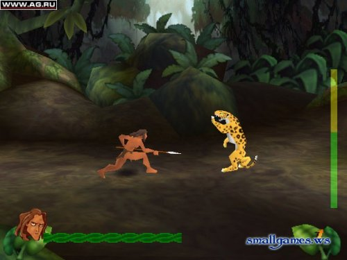 Disneys Tarzan Action Game