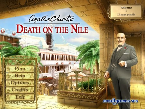 Agatha Christie Death On The Nile
