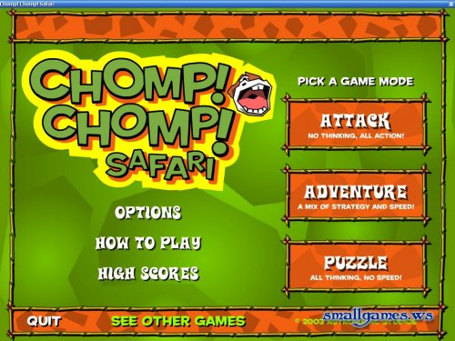 Chomp! Chomp! Safari