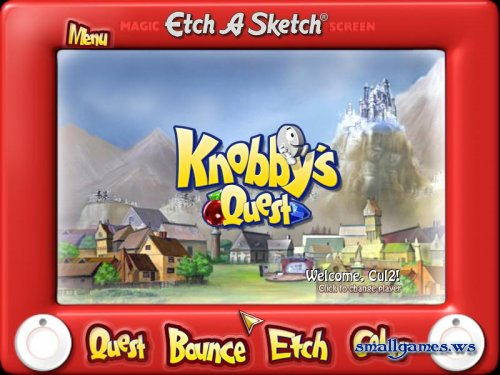 Etch-a-Sketch - Knobbys Quest