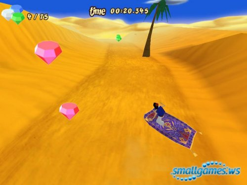 Aladdin Magic Carpet Racing