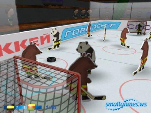Медведи-хокеисты