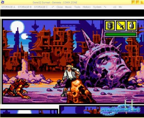 60 игр для Sega + эмулятор Gens32 Surreal v1.72