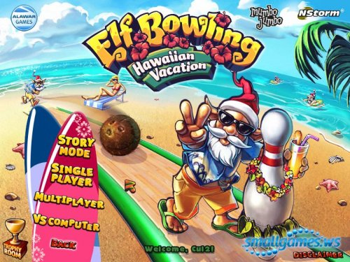 Elf Bowling 2: Hawaiian Vacation