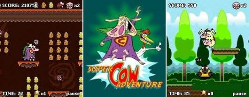 Super Cow Adventure(240*320)