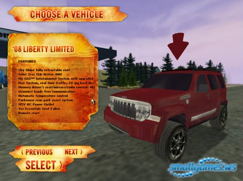 Jeep Geocache Challenge
