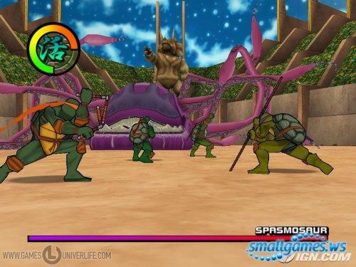 Teenage Mutant Ninja Turtles 2: Battle Nexus