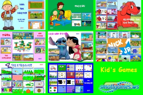 Kids Flash Games 75in1 (AIO)