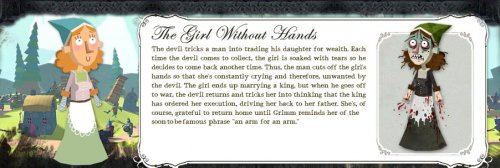American McGee's Grimm -- Volume 1 Episode #5: The Girl Without Hands