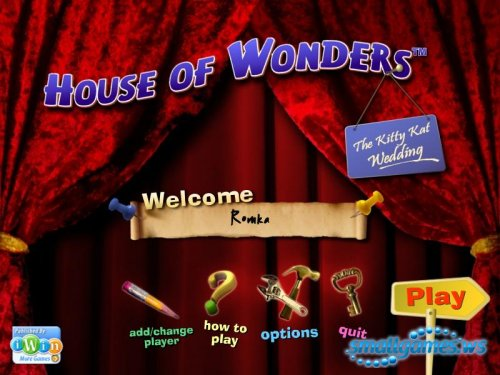 House of Wonders: Kitty Kat Wedding