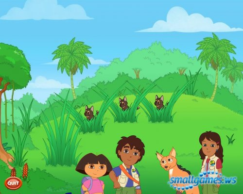 Go Diego Go: Wolf Pup Rescue
