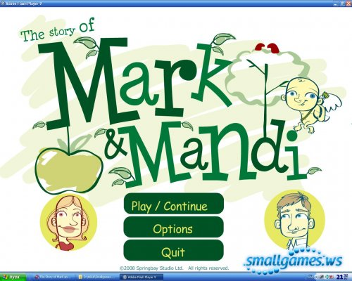The Story of Mark and Mandi beta
