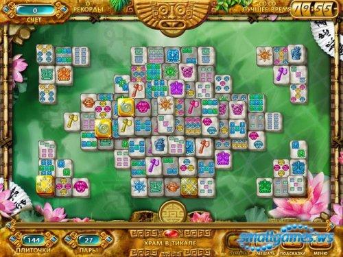 Маджонг: Золото Майя / Mahjongg: Ancient Mayas Casual Free Games.