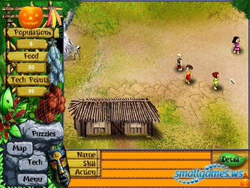Virtual Villagers: Halloween Edition
