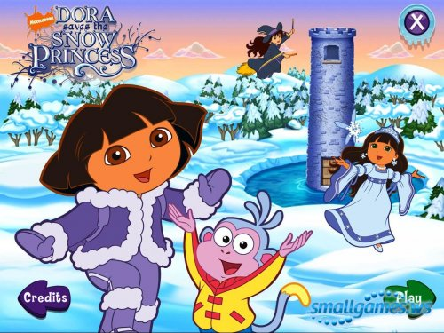 Dora: Saves the Snow Princess