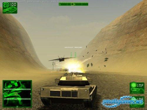 Гром на пустыне - скачать игру бесплатно